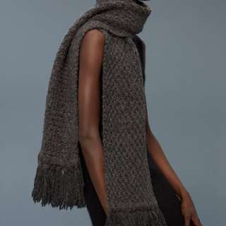 ARITZIA WILFRED HAND WOVEN SCARF