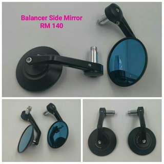 Bar End Solid Side Miror