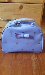 FreshKon. Pastel purple Makeup/ Travel Bag