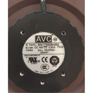 Original AVC Centrifugal turbine fan BN17569B48M 48V 0.90A