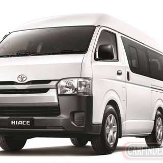 Hiace commuter 2018