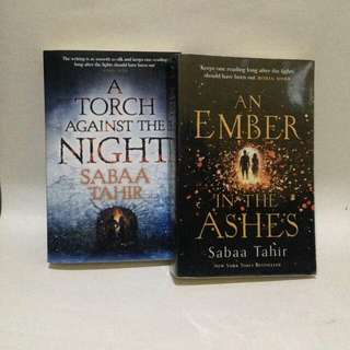Sabaa tahir - an ember in the ashes- torch against the night