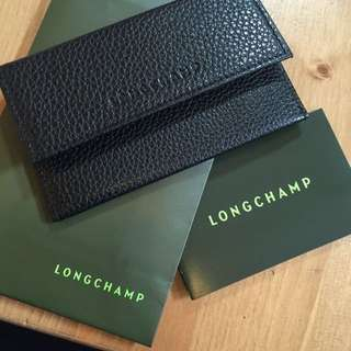 LONGCHAMP Leather Card Holder