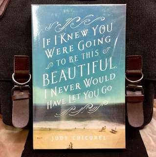 # Novel《Bran-New + It Touchingly Conveys The Magic Of Everyday Living During A Darkened Time》Judy Chicurel : IF I KNEW YOU WERE GOING TO BE THIS BEAUTIFUL I NEVER WOULD HAVE LET YOU GO