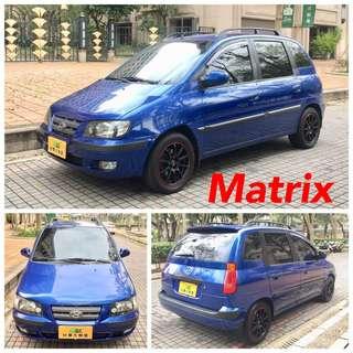 04出廠MATRIX小車魔術大空間可客貨兩用,可分期輕鬆擁有