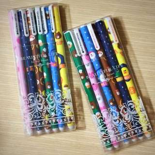 Cartoon Pen (Hello Kitty, Line, Galaxy & Super Hero)