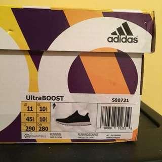 Adidas Ultraboost Core Black   US 11