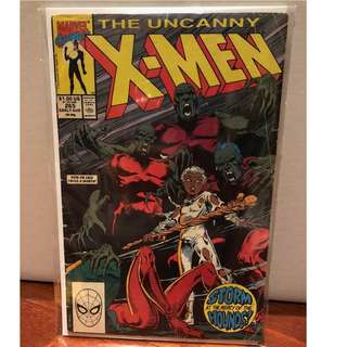 Uncanny X-Men 265, Comic from 1990