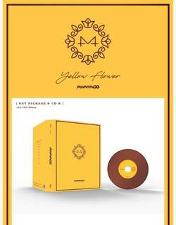 [NO POSTER GO] Mamamoo 6th Mini Album - Yellow Flower