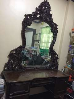 10 ft. Classic Narra Mirror Cabinet
