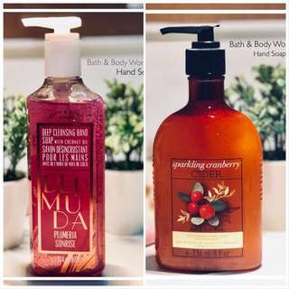 Bath & Body Works 2pcs. Hand Soap