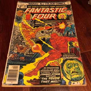Fantastic Four 189, From 1977