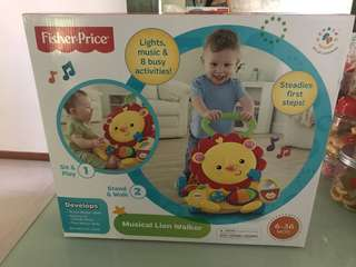 Fisher Price Musical Lion 🦁 Walker
