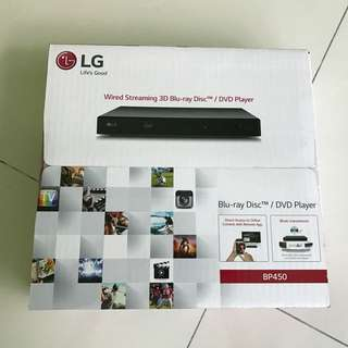 BNIB LG BP450 3D Blu-ray Disc/DVD Player