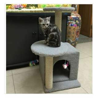 75cm Cat Scratching Tree House