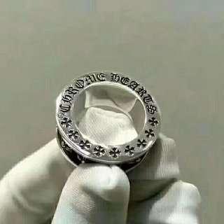CH 925純銀旋轉指環