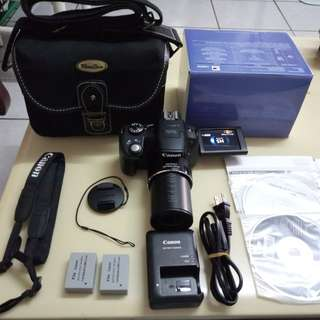 🚚 Canon SX50IS+Bag+Box+2 Battery +CD+Charger cable+Strap +Lens Cover