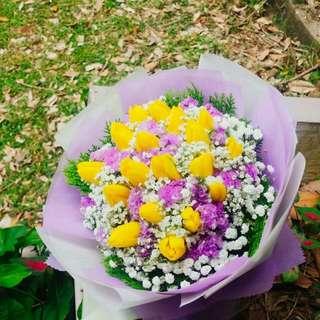 Tulip Bouquet Fresh Flower Bouquet