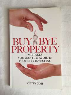 Property investment book - Buy Bye Property