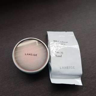 Laneige BB Cushion anti aging in no.23 sand