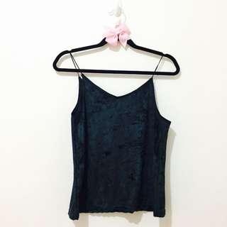 ⚠️ Velvet Cami String Top