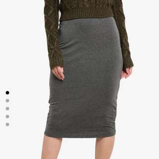 Zalora bodycon skirt