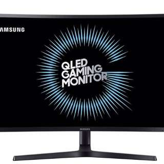 "Samsung 32"" QLED Curved Monitor"