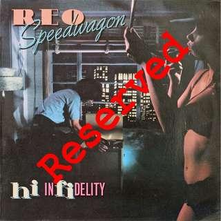 Reo speedwagon, Vinyl LP, used, 12-inch original pressing