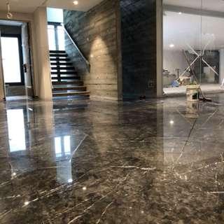 Marble polishing/repolishing