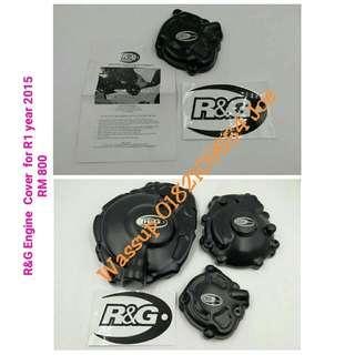 Yamaha R1 Original R&G Engine Cover Year 2015