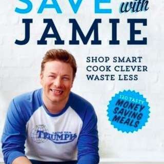 Save With Jamie Oliver cookbook