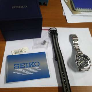 Seiko Sumo SBDC031 (Black Sumo - 2nd Superb)