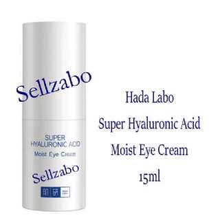 Eyes Cream : Hada Labo Super Hyaluronic Acid Sellzabo Face Facial Skin Care Skincare Beauty Hydrating Moisturising Moisturizing