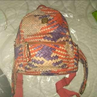 Orange Medium Sized Bag