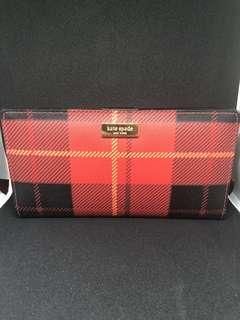 Kate Spade Plaid Wallet