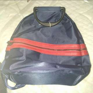 Silky Navy Blue Small Sized Bag