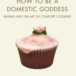 Nigella Lawson's How to be a domestic goddess cookbook