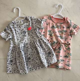 Baby girl dresses 6-12 Months
