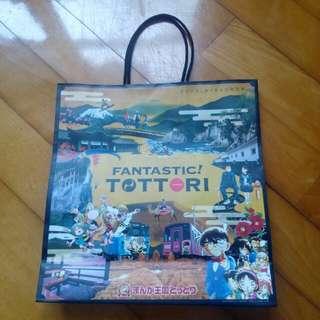介紹日本鳥取縣紙袋一個