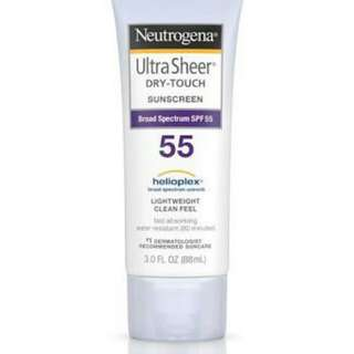NEUTROGENA ULTRA SHEER Dry-Touch