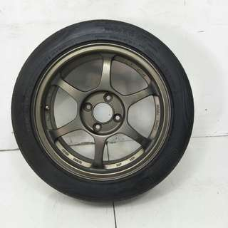 15 '' Sport Rim With Tyre 4x100 (SR949)