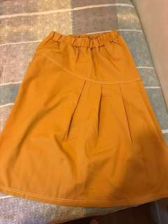 Yellow skirt big sales