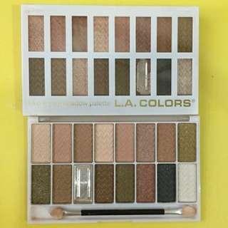 [DEFECT] LA Colors Eyeshadow Pallete Sweet