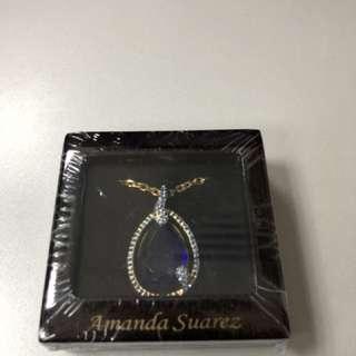 Luxury Woman's Necklace - Titanic Blue