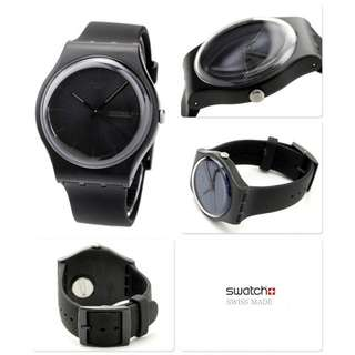 Swatch Black Edition 黑色別注版