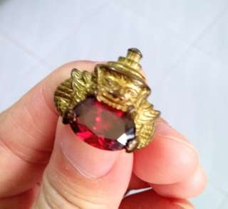 Rahu Ruby Ring