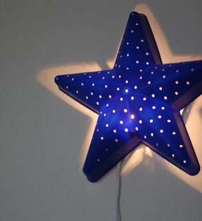 Ikea Blue Star Light (SMILA STJÄRNA)