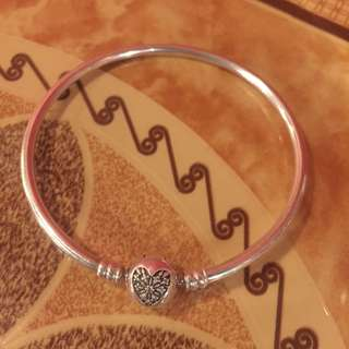 Pandora Silver Bangle Bracelet Limited Edition