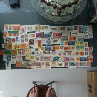 1997前已蓋銷郵票