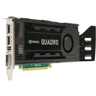 NVidia Quadro k4000 almost NEW